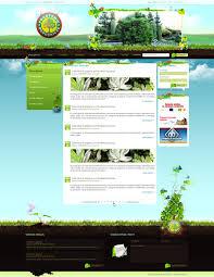 Artistic Web Design Found On DeviantART Adorable Garden Web Design Design
