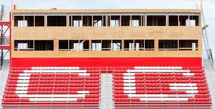 Center Grove Trojan Football Stadium New Seats Ray Skillman