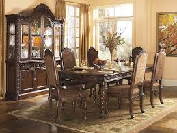 old world dining room furniture. traditional old world 8 piece dining room set - dark brown sam levitz furniture