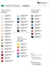 Pearl Color Chart Preciosa Nacre Pearls Round Shape In Cream Color Buy Preciosa Nacre Pearls Round Nacre Pearls Preciosa Pearl Round Product On Alibaba Com