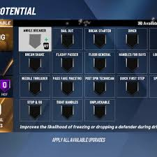 Nba 2k20 Badges List Every Badge In The New Demo Full