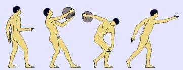 Image result for discus throwing in ancient greece