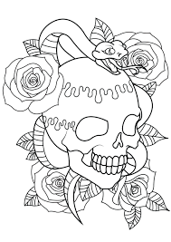 Pattern flower rose coloring for adults vector. Rose Coloring Pages For Adults