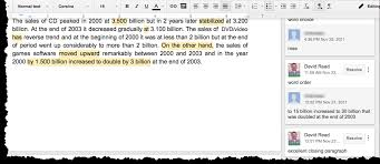 ways to use google docs in the eap classroom learning google docs essay feedback