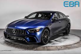 View inventory and schedule a test drive. 2019 Used Mercedes Benz Amg Gt 63 S 4 Door Coupe At Elliott Bay Auto Brokers Serving Seattle Wa Iid 20479711