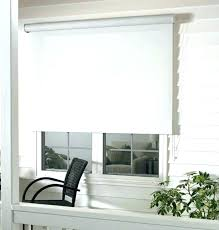 pull down fabric shades specification of window shade pulls roller cassette black and white large