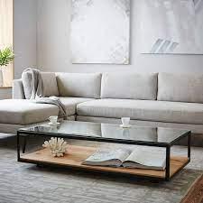 industrial display coffee table