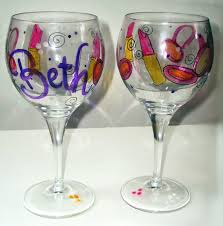 Wine Glass Decorating Designs Top Wine Glass Decorating Ideas Decorate Ideas Wonderful In Wine 17