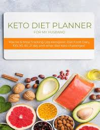Meal Tracking Keto Diet Planner For My Husband Macros Meal Tracking Log