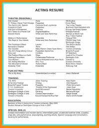 Movie Theatre Resume 8 9 Movie Theater Resume Jplosman7 Com