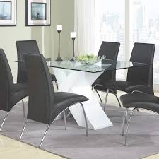 dining room great concept glass dining table. Simple Great Contemporary Furniture Dining Table Excellent Picture Concept Amazon Com  Coaster Home Furnishings Glass To Room Great