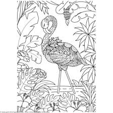 Inspirational Flamingo Coloring Pages Pdf Getcoloringpages Org For