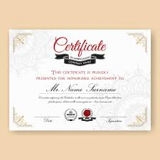 High School Diploma Certificate Fancy Design Templates Certificate Backgrounds Vectors Photos And Psd Files Free