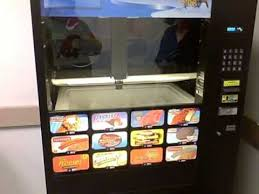 Frozen Product Vending Machine Magnificent Frozen Food Vending Machine YouTube