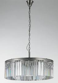 chair endearing art deco crystal chandelier 17 am6011 round style clear glass fringe hanging pendant lamp