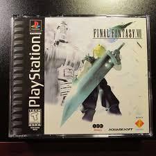 Final Fantasy VII 7 PS1 Black Label ...