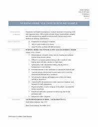 Best Of Casa Volunteer Sample Resume Resume Sample