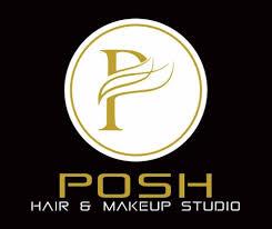 logo posh hair makeup studio uni salon photos purulia road ranchi