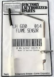 carrier furnace. lh680014 bryant carrier furnace flame sensor