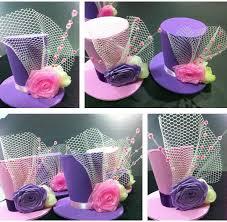 bunay s little corner fun diy mini top hat headpieces funky hats hat crafts