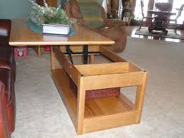 pop up coffee table plans pop up coffee table mechanism large