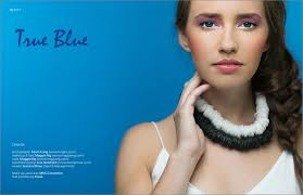 beauty editorial true blue veux magazine