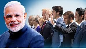G7 மாநாட்டிர்க்கு தலமைதாங்குகிறது பாரதம்