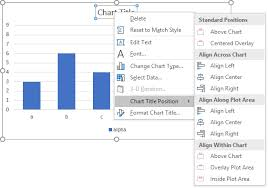 Align Charts In Excel Context Menu Commands Peltier Tech Charts For Excel
