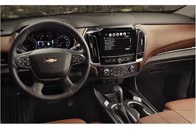 2018 chevrolet traverse premier. Modren Chevrolet 2018 Chevy Traverse Interior Technology Features In Chevrolet Traverse Premier