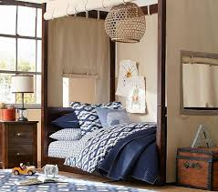 Pottery Barn Kids Sawyer Canopy Bed - home decor / bedroom furniture ...