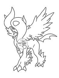 Pokemon Coloring Pages Charizard 10 W Face Mega X Page 11