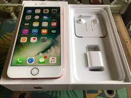 iphone 7 rose gold box. sealed in box open to all networks ready work any country storage capacity:32gb mpn:mnr02ll/a network:t-mobile model:iphone 7 plus color:rose gold iphone rose
