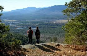 Hiking white mountain hiking vacation biking outdoors