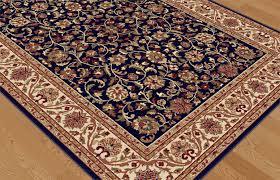 navy blue traditional oriental border area rug vines leaves multi navy blue traditional oriental border area rug vines