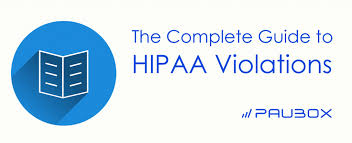 The Complete Guide To Hipaa Violations Paubox