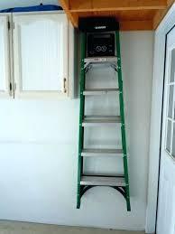 ladder wall hooks ladder wall hooks medium image for ladder on wall hangers home depot garage