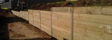 wooden retaining wall systems designs