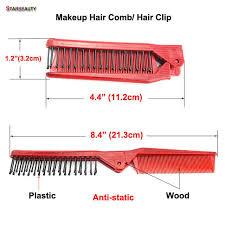 Starbeauty складная деревянная <b>расческа для волос</b>, небольшая ...