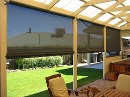 Blinds Outdoor Porch Blinds Outdoor Roller Shades Costco Roll Up