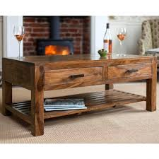 Center Coffee Table With 4 Drawers The Yellow Door Store Zuo Civic ...