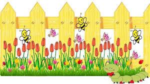 fences clip art. Interesting Art YELLOW FENCE In Fences Clip Art