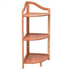 corner shelves furniture. 3 Tier Bamboo Free Standing Corner Shelving Rack Shelves Furniture