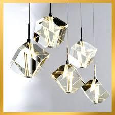 bundle pendant light chandelier instant pendant light chandelier 5 lights cubic crystal chandelier light pendant lamp ceiling pendant chandelier lighting