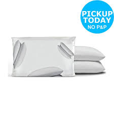 details about argos home anti allergy pair of pillows