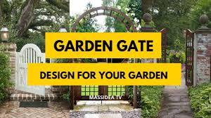 Garden Gate Design Ideas 45 Beautiful Garden Gate Design Ideas For Your Garden
