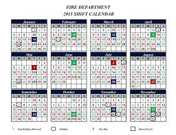 Firefighters Shift Calendar 2015 Canton Firefighters Local 2289