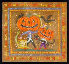 All Hallows Night Cross Stitch Chart