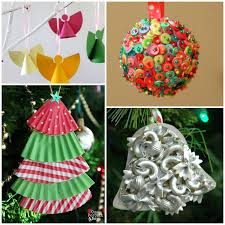 25 DIY Christmas Ornaments  ThewhitebuffalostylingcocomChristmas Ornament Crafts
