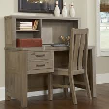 highlands collection driftwood desk and hutch free today 17730684