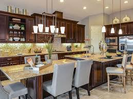 Granite Stone For Kitchen Traditional Kitchen With Kitchen Island Stone Tile In Lithia Fl
